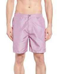 Peter Millar - Wakka Flokka Flamingos Swim Trunks - Lyst