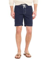 J.Crew | J.crew Solid Swim Trunks | Lyst