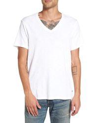 True Religion - V-neck T-shirt - Lyst