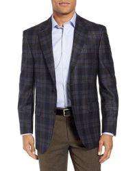 Peter Millar - Flynn Classic Fit Plaid Wool Sport Coat - Lyst