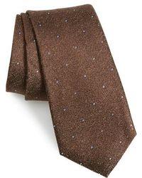 Calibrate - Mangan Dot Silk Tie - Lyst