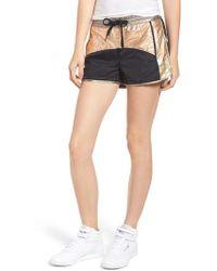 Pam & Gela - Colorblock Shorts - Lyst