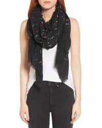 Rag & Bone | Embroidered Dagger Scarf | Lyst