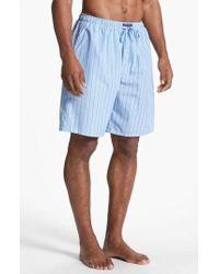 Polo Ralph Lauren - Cotton Pajama Shorts - Lyst