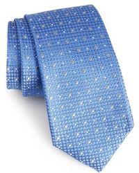 Calibrate   Gest Dot Silk Tie   Lyst