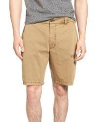 Jeremiah - Merrill Pigment Slub Poplin Shorts - Lyst