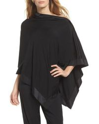 Commando - Butter & Satin Asymmetrical Poncho - Lyst