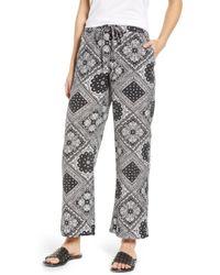The East Order - Blair Bandana Print Drawstring Pants - Lyst
