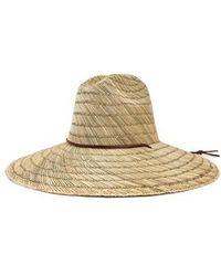 Brixton - Bells Straw Hat - - Lyst