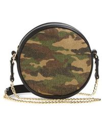 mali + lili - Mali + Lili Camouflage Vegan Leather Canteen Crossbody Bag - - Lyst