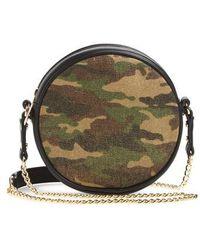 mali + lili - Mali + Lili Camouflage Vegan Leather Canteen Crossbody Bag - Lyst