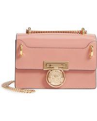 Balmain - Glace Leather Box Shoulder Bag - - Lyst