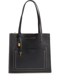 Marc Jacobs - The Grind Medium Leather Tote - - Lyst