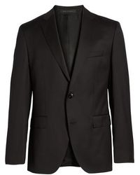 BOSS - Johnstons Cyl Trim Fit Solid Wool Sport Coat - Lyst