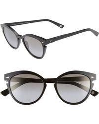Ahlem - Menilmontant 53mm Cat Eye Sunglasses - - Lyst