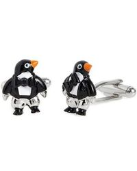 Link Up | Penguin Cuff Links | Lyst