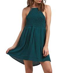 Volcom - Haute Stone Cover-up Dress - Lyst