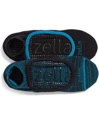 Zella - Studio 2-pack Socks, Green - Lyst