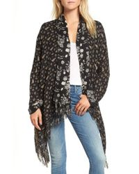 Sole Society - Reversible Kimono - Lyst