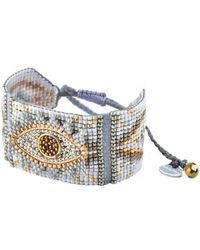 Mishky - Medium Evil Eye Bracelet - Lyst