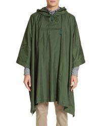 Norse Projects - Packable Nylon Poncho, Green - Lyst
