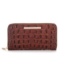 Brahmin - 'suri' Zip Around Wallet - Lyst
