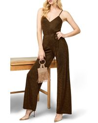 a81a0210ec8f Lyst - Reformation Guatemala Jumpsuit in Green