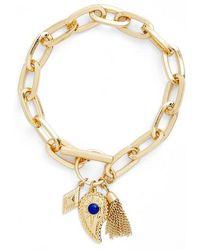 Rebecca Minkoff - Perfect Chain Charm Bracelet - Lyst
