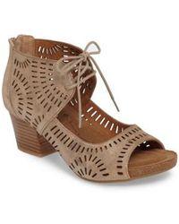 Söfft - Modesto Perforated Sandal - Lyst