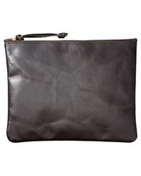 Filson - Large Leather Pouch - Lyst