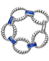 Lagos - Maya Fluted Link Bracelet - Lyst