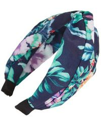 Cara - Floral Print Headband - Lyst