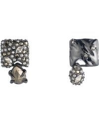 Alexis Bittar - Mismatched Stud Earrings - Lyst