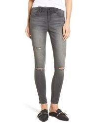 Tinsel - Ripped Skinny Jeans - Lyst