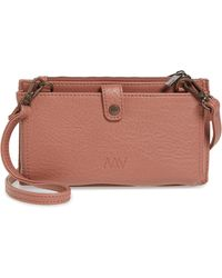 Matt & Nat - Tipei Faux Leather Phone Crossbody Bag - Lyst