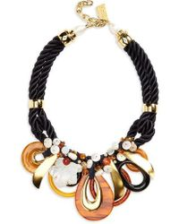 Lizzie Fortunato - Dawn & Dusk Pearl Rope Necklace - Lyst