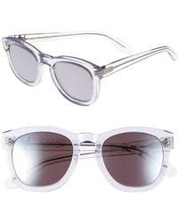 Wildfox - Classic Fox Deluxe 50mm Sunglasses - Lyst
