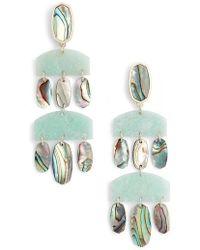Kendra Scott | Emmet Drop Earrings | Lyst
