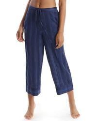 Commando - Crop Pajama Pants - Lyst