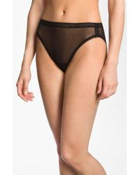 On Gossamer - High Cut Briefs - Lyst