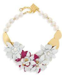 Lizzie Fortunato - Wildflower Collar Necklace - Lyst
