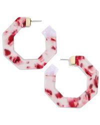 BaubleBar - Diem Hoop Earrings - Lyst