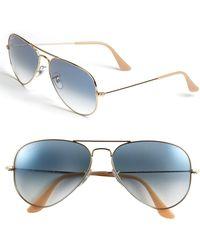 Ray-Ban - Standard Original 58mm Aviator Sunglasses - - Lyst