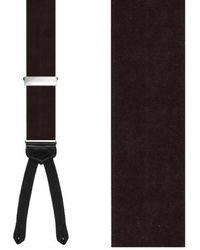 Trafalgar - 'kington Ii' Silk Suspenders - Lyst