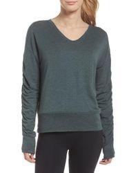 Zella - Pop On Sweatshirt - Lyst
