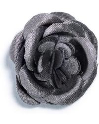 Hook + Albert - Small Lapel Flower - Lyst