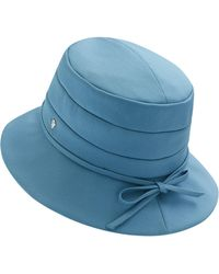 Lyst - Helen Kaminski Wool Jersey Baker Boy Cap - in Black 97ac19bcea18