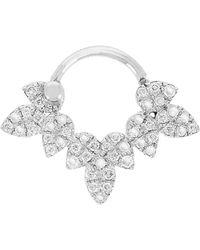 Yvonne Léon - Drip Bar Diamond Stud Earring - Lyst