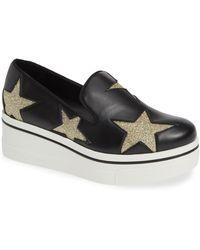 701d29ed9e5 Lyst - Stella McCartney Binx Faux Leather Platform Sneakers in Black