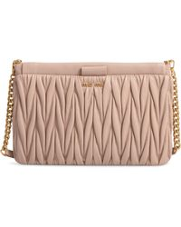 Miu Miu - Matelasse Leather Clutch - - Lyst